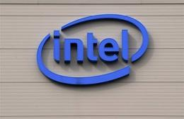 A US computer chip giant Intel factory is pictured in Leixlip, near Dublin, Ireland in July 2009