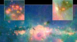 Baby Stars Finally Found in Jumbled Galactic Center