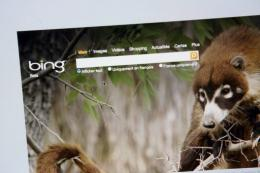 Bing application has hit the virtual shelves of its longtime rival's online App Store