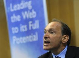 British software genius Tim Berners-Lee