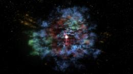 Cassiopeia A comes alive across time and space