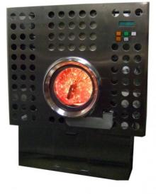Charcoal combustion Heater