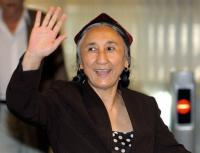 China has branded Rebiya Kadeer, leader of the Muslim minority, as a