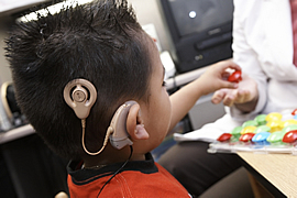 kids cochlear implantation