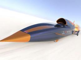 Design chosen for British 1,000 mph car