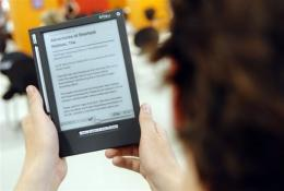Dutch company IREX Technologies has unveiled a new electronic reader for the US market