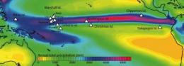 Earth's most prominent rainfall feature creeping northward