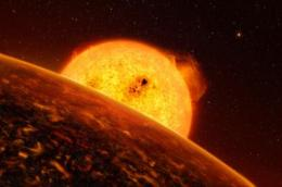 First Solid Evidence for a Rocky Exoplanet