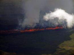 Galapagos volcano erupts, could threaten wildlife (AP)
