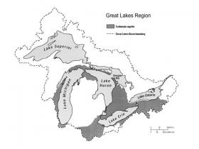 Great Lake's sinkholes host exotic ecosystems