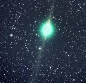 Green Comet Approaches Earth