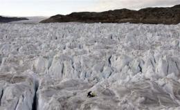 Greenland's melt mystery unfolds, at glacial pace (AP)