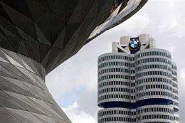 Headquarters of German luxury car maker BMW in Munich