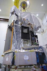 Herschel satellite weighed and fuelled