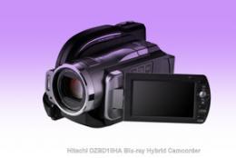 Hitachi Blu-ray Hybrid Camcorder