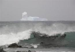 Icebergs head from Antarctica for New Zealand (AP)