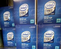 Intel shares soar as company beats soft forecast (AP)