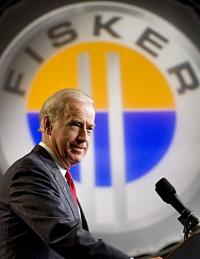 Joe Biden speaks at the former GM Boxwood Plant in Wilmington