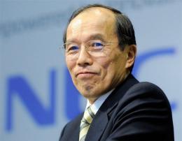 Kaoru Yano, President of Japan's electronics giant NEC