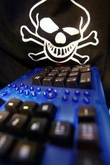 Keyboard symbolizing a hacker