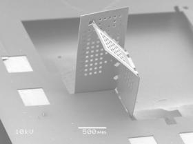Knowing when to fold: Engineers use 'nano-origami' to build tiny electronic devices (Video)