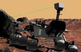A Mars Rover Named 'Curiosity'