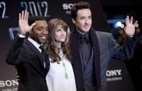L-R: Chiwetel Ejiofor, Amanda Peet and John Cusack at the premiere of