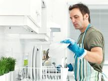 Men who do the housework are more likely to get the girl