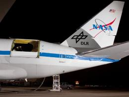 NASA Flight Tests Unique Jumbo Jet with Opening in Side