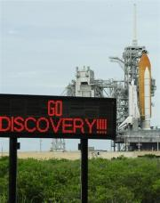 NASA has targeted Discovery's third launch attempt for no earlier than Friday at 12:22 am (0422 GMT)