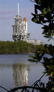 NASA hopeful repairs will permit Sunday launch (AP)