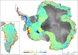 NASA Ice Satellite Maps Profound Polar Thinning