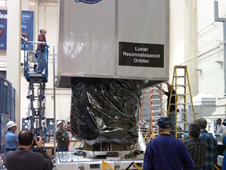 NASA Lunar Spacecraft Ships South in Preparation for Launch