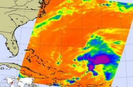 NASA sees Tropical Storm Danny form, US East Coast on watch