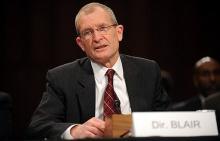 National Intelligence Director Dennis Blair