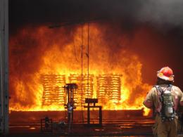 Navy Researchers Apply Science to Fire Fighting