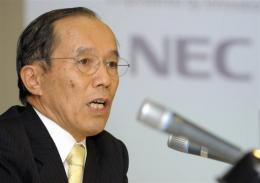 NEC's President, Kaoru Yano