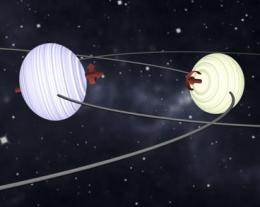 New observations solve longstanding mystery of tipped stars