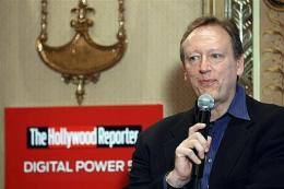 News Corp. chief digital officer Jonathan Miller speaks with The Hollywood Reporter in New York in June 2009