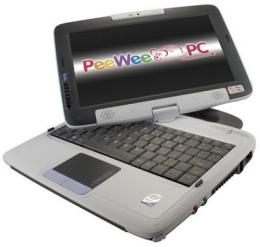 PeeWee Pivot Tablet Laptop