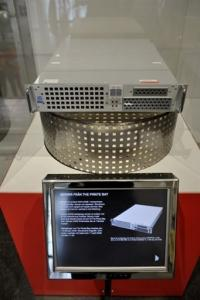 Pirate Bay's first server IS exhibited at Stockholm's Technical Museum