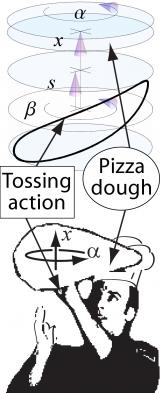 The Physics of Pizza Tossing