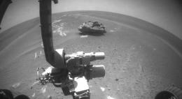 Possible Meteorite Imaged by Opportunity Rover