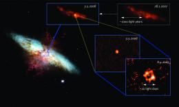 Rare radio supernova in nearby galaxy is nearest supernova in five years