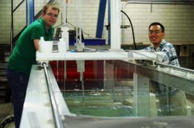 Research Analyzes Flow Structure Under Breaking Waves
