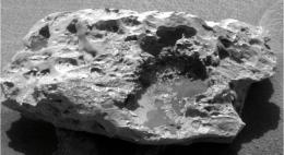 Rover Confirms Meteorite on Mars
