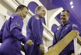 Russia: no space for space tourists (AP)