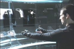Scene from Minority Report