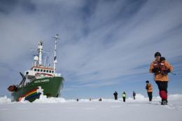 Setting sail with Greenpeace