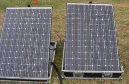 Solar energy powers Marines on battlefield